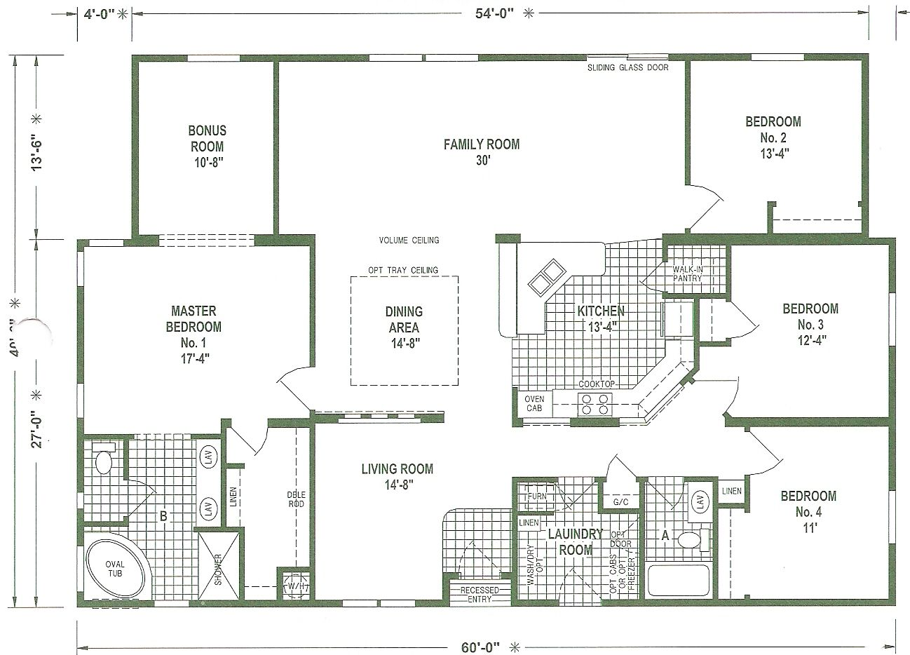 triple wide mobile home floor plans we offer a complete
