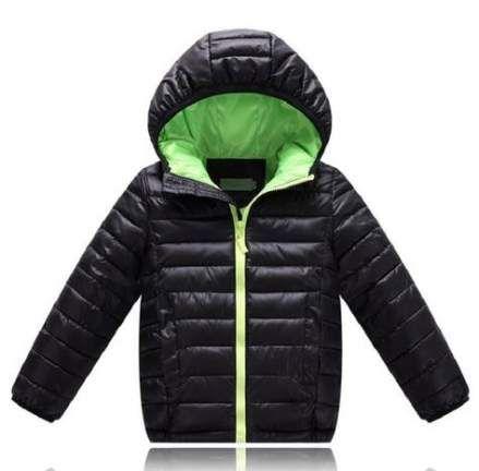 Anxinke Children Boys Girls Fashion Winter Warm Hooded Down Jackets with Pockets