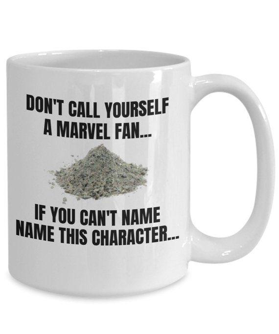 Photo of Artículos similares a Funny Avengers Coffee Mug – No te llames fanático si no puedes – El mejor regalo para Avengers Endgame Lovers – Marvel Memes Iron Man Love en Etsy