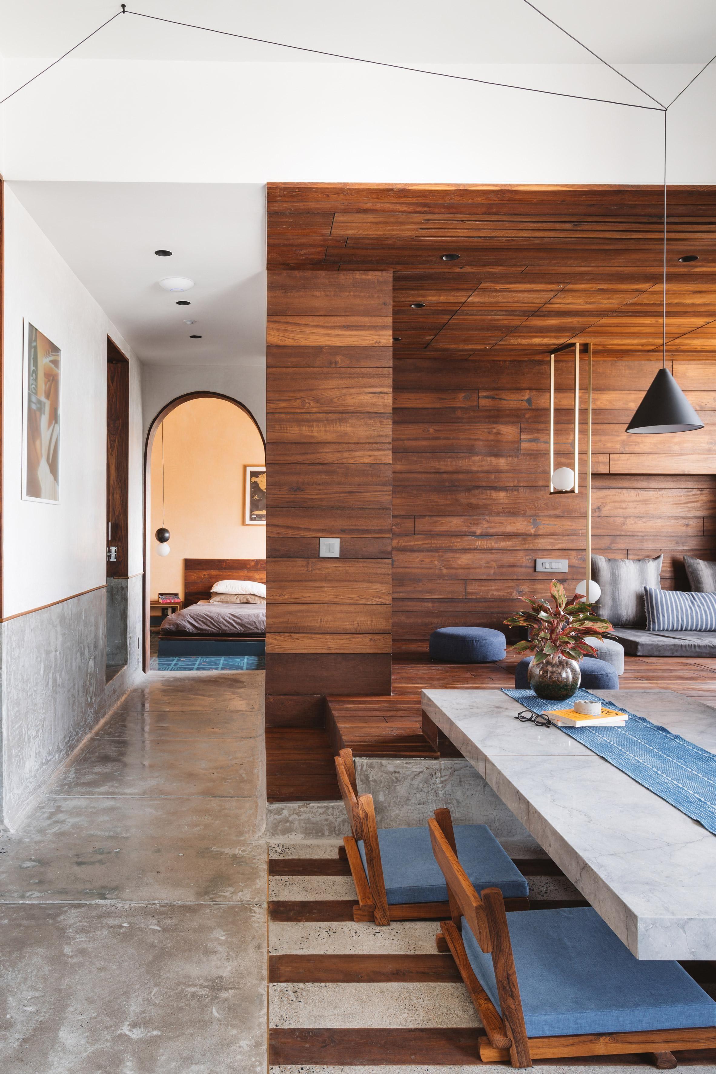 Studio Apartment by Sāransh Architects in Ahmedabad India