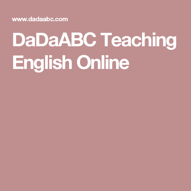 DaDaABC Teaching English Online