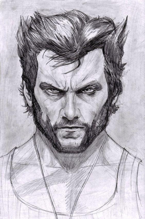 Art  Wolverine —- (Hugh Jackman