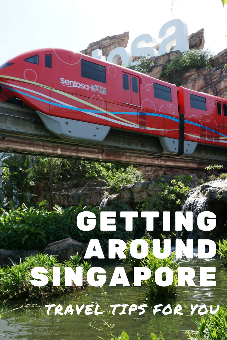 Getting around Singapore is as easy as a bus, train or car, in this well organised island country that understands a tourist needs.