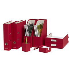 Product Image For Philosophy Ultimate Desk Set Up Kit Red Organizer Organization