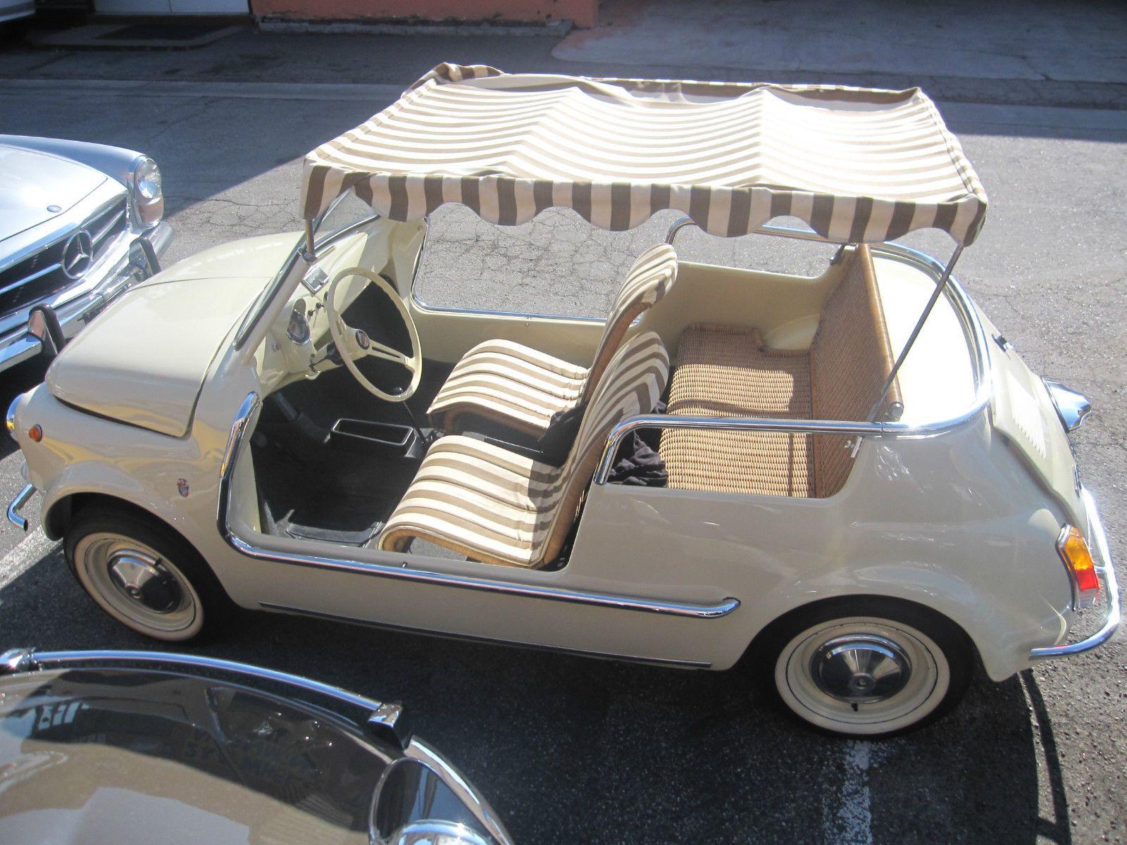 69 Fiat Jolly The Ultimate Beach Cruiser Dream Machines Beach