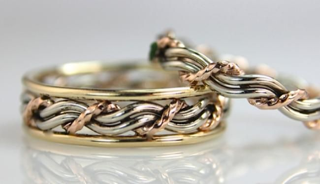 Cord Of Three Wedding Rings 5