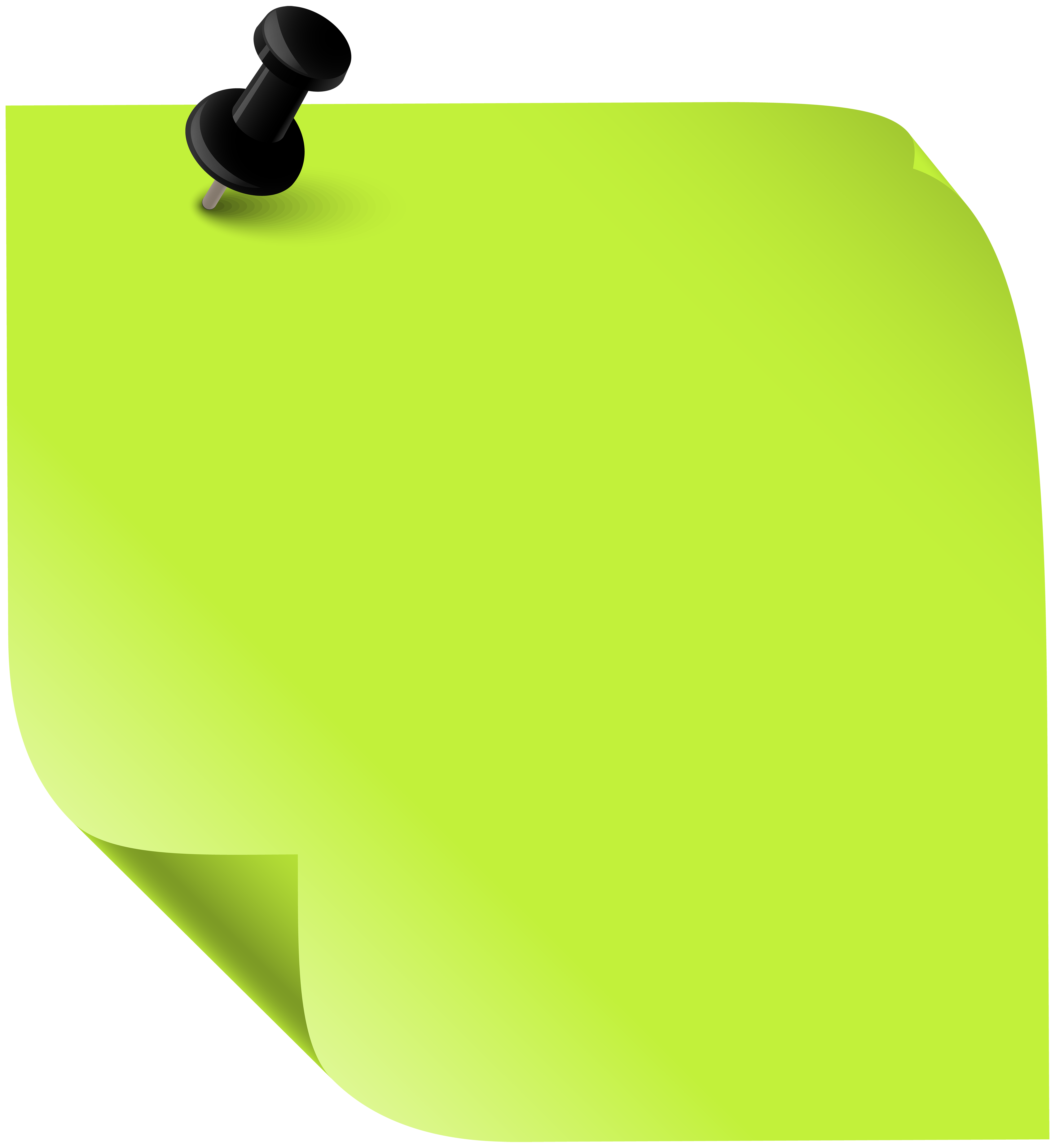 Sticky Note Green PNG Clipart - Best WEB Clipart   Convite ...