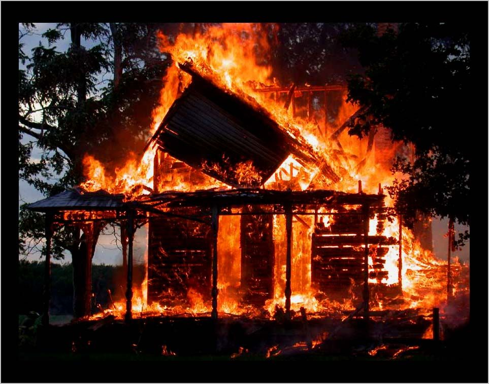 In To Kill A Mockingbird Miss Maudie S House Caught Fire And Burned Down House Fire Fire Burning House