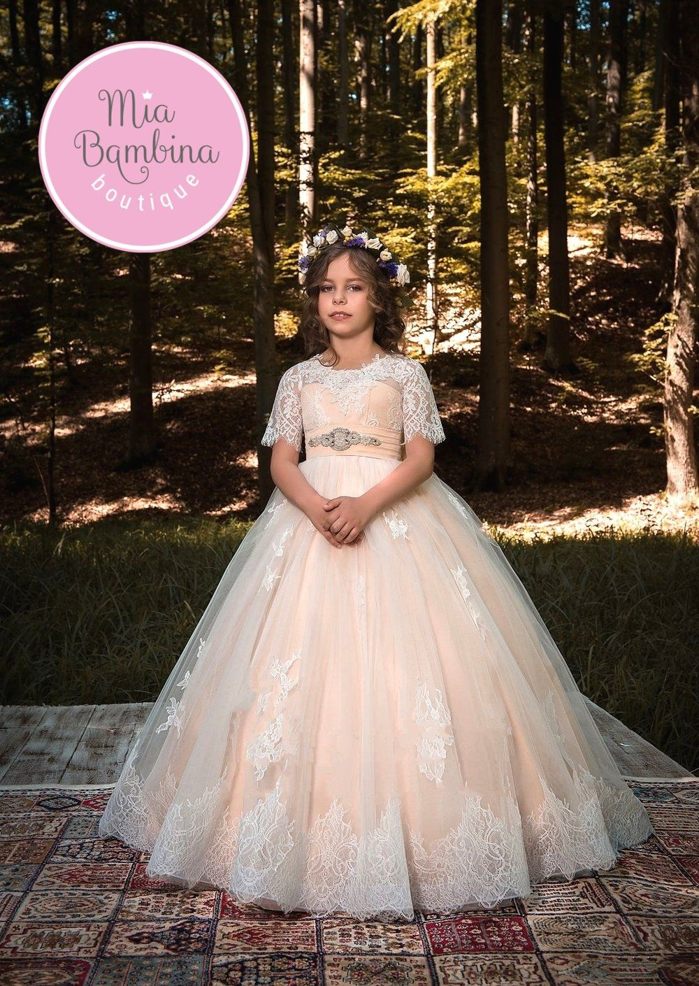 850098131 Fashion Sandals For Toddlers. The Madrid Flower Girl Dress For Wedding by  MB Boutique Canada.