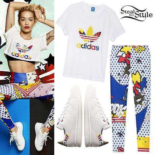 huge selection of 7b79f 8b0b0 Rita Ora  Adidas Super Pack Leggings