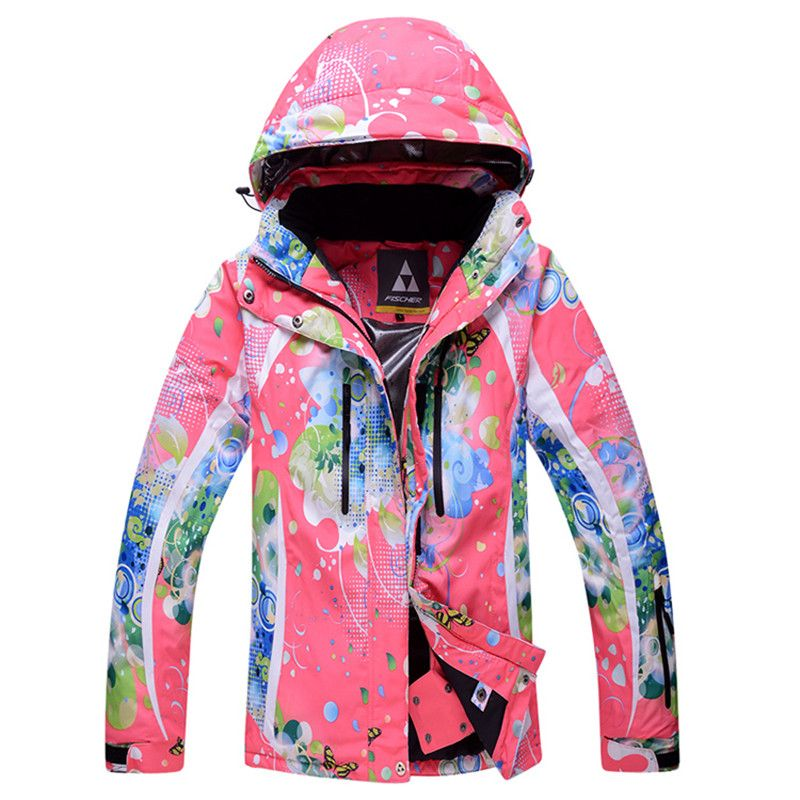 8657ee60bb 5 sizes 4 colors female waterproof windproof breathable thermal skiing  jackets camping hiking climbing snowboarding skiing coat