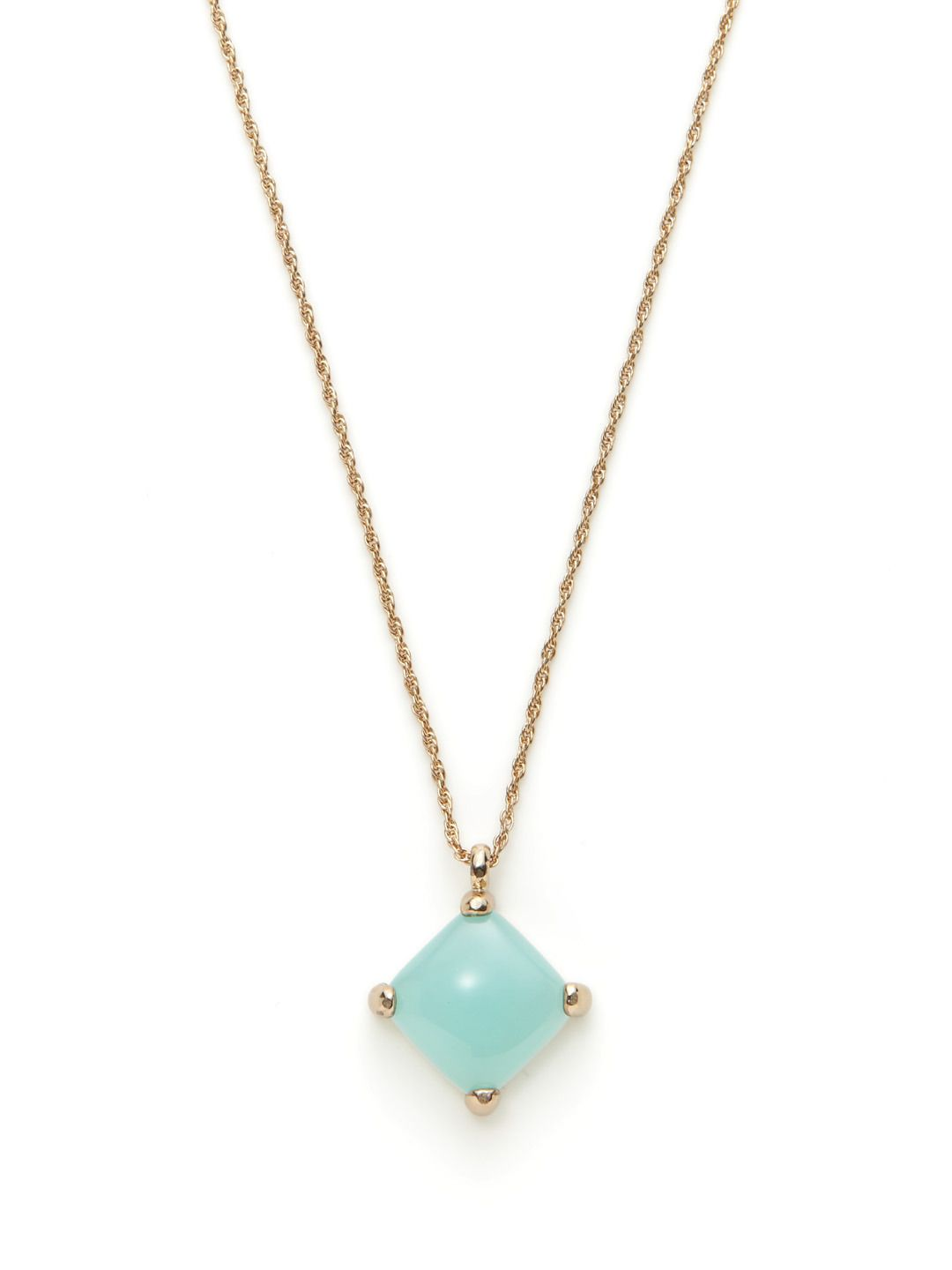 Portia tilted square pendant necklace jewelry womenus fashion