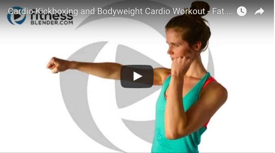 Kickboxing and Bodyweight Cardio Workout      This cardio kickboxing and bodyweight cardio workout makes for a sweaty interval workout that…