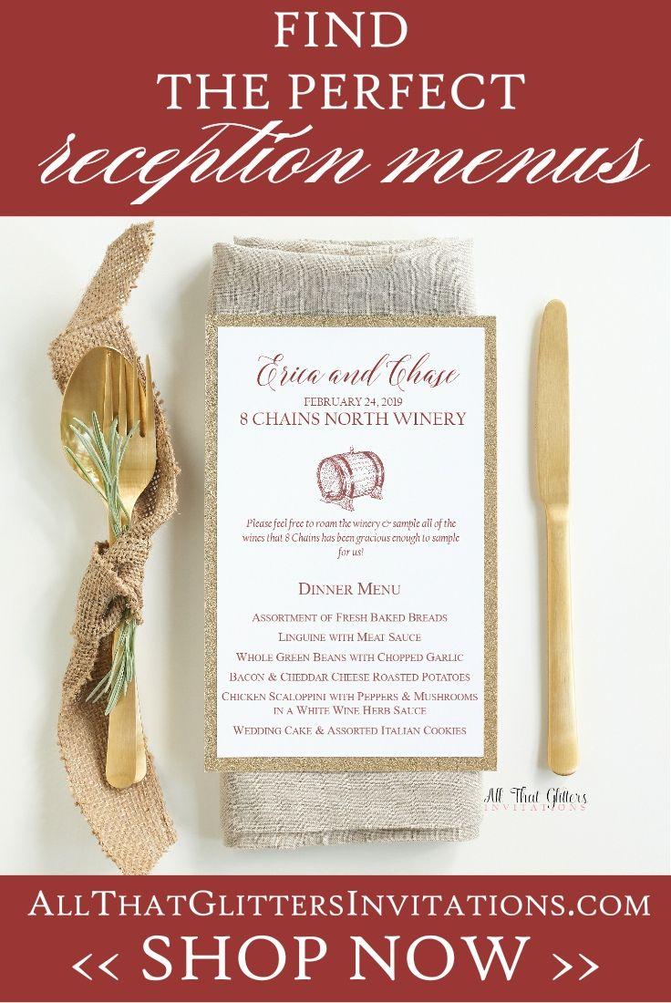 Wine-themed wedding, wedding theme ideas, wine wedding menu, wine ...