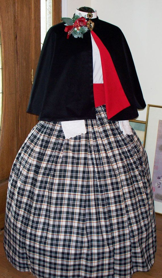 VICTORIAN//AMERICAN CIVIL WAR RIBBON DETAIL SKIRT ANY SIZE ANY COLOUR