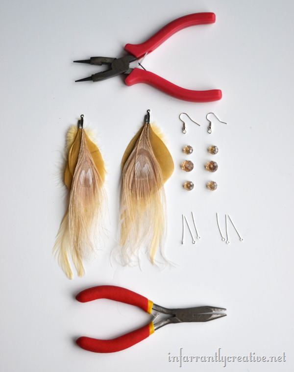 How To Make Feather Earrings Diy