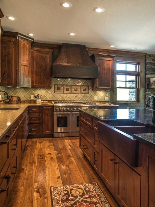 692 Farmhouse Kitchen Design Ideas & Remodel Pictures with ...
