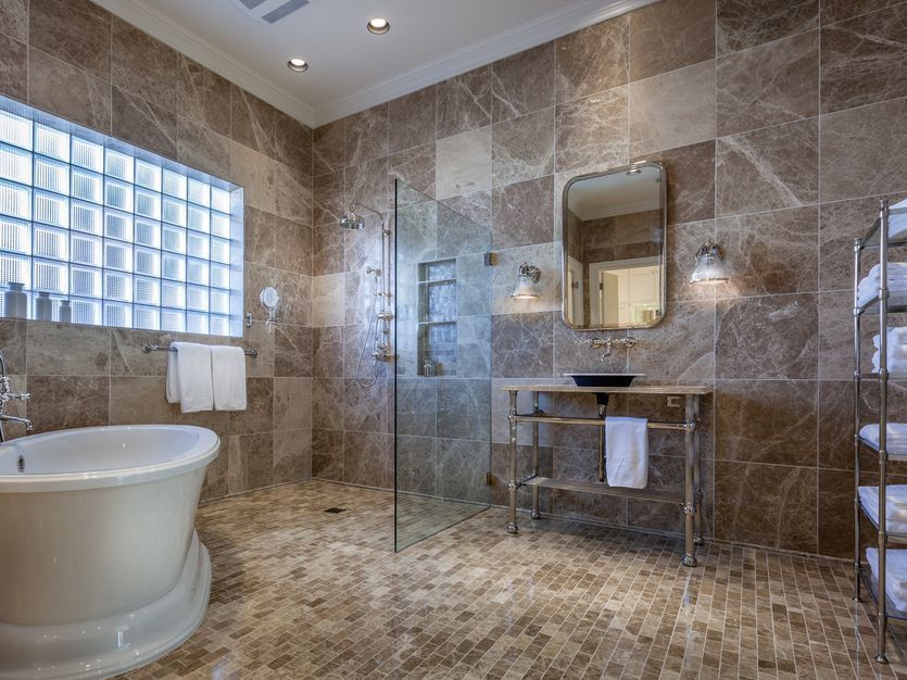 This Dallas Master Bath Received A Whole New Look! Take A Look. Images