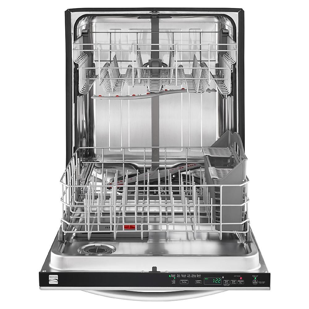 Kenmore 24 Built In Dishwasher W Stainless Steel Tub Stainless