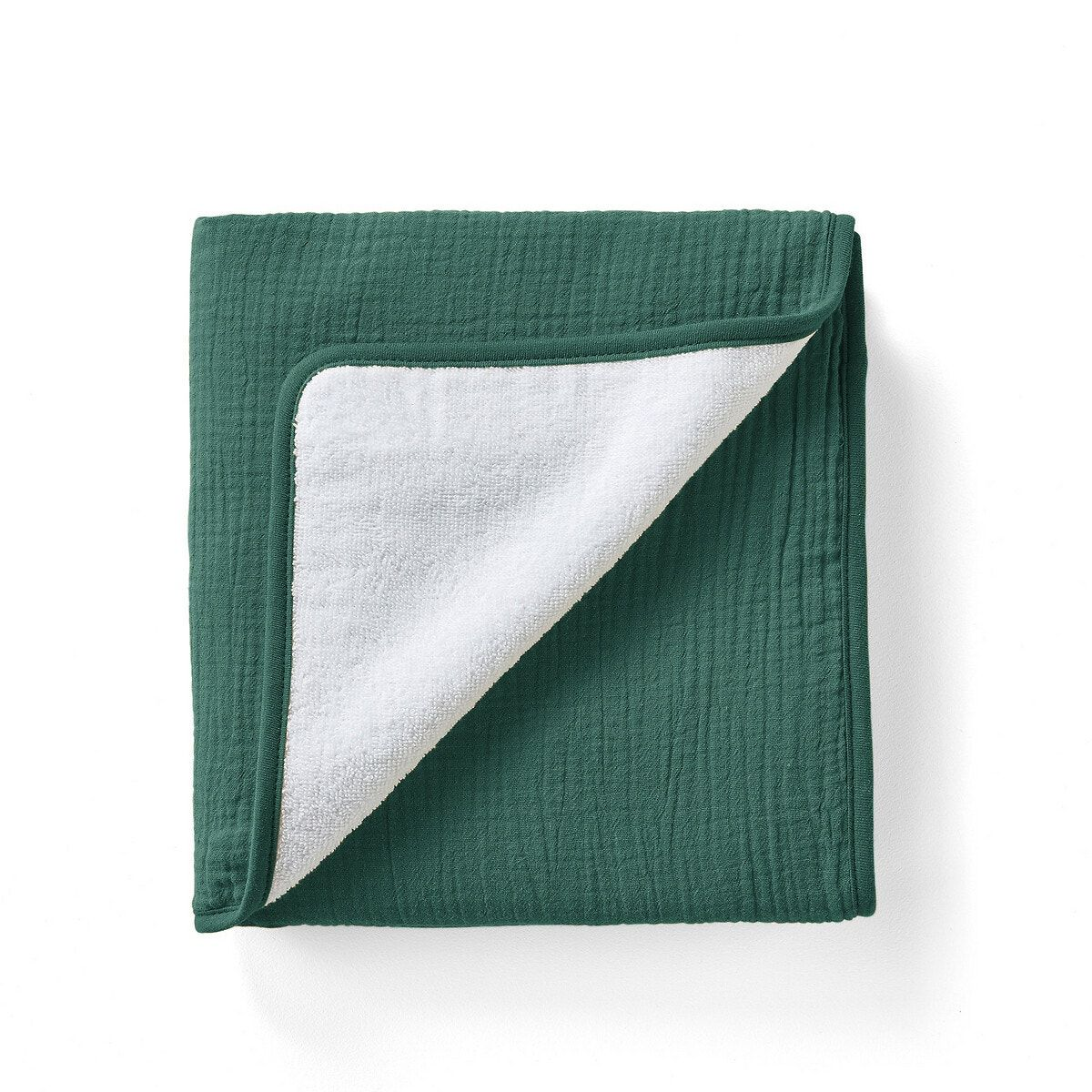 Refresh your bathroom theme with our kumla hand towels. Made with absorbent white terry sponge on one side and pure cotton muslin on the other, they're available in a range of trendy colours for easy coordination.product details:• 1 side white pure cotton terry, 380 g/m2• 1 side pure cotton muslin• machine wash at 40°.size:• 50 x 90 cm.shop the full kumla range online.additional information:• this standard 100 certified product by oeko-tex® - certificate no. Cq 1102/4 ifth - follows a certified