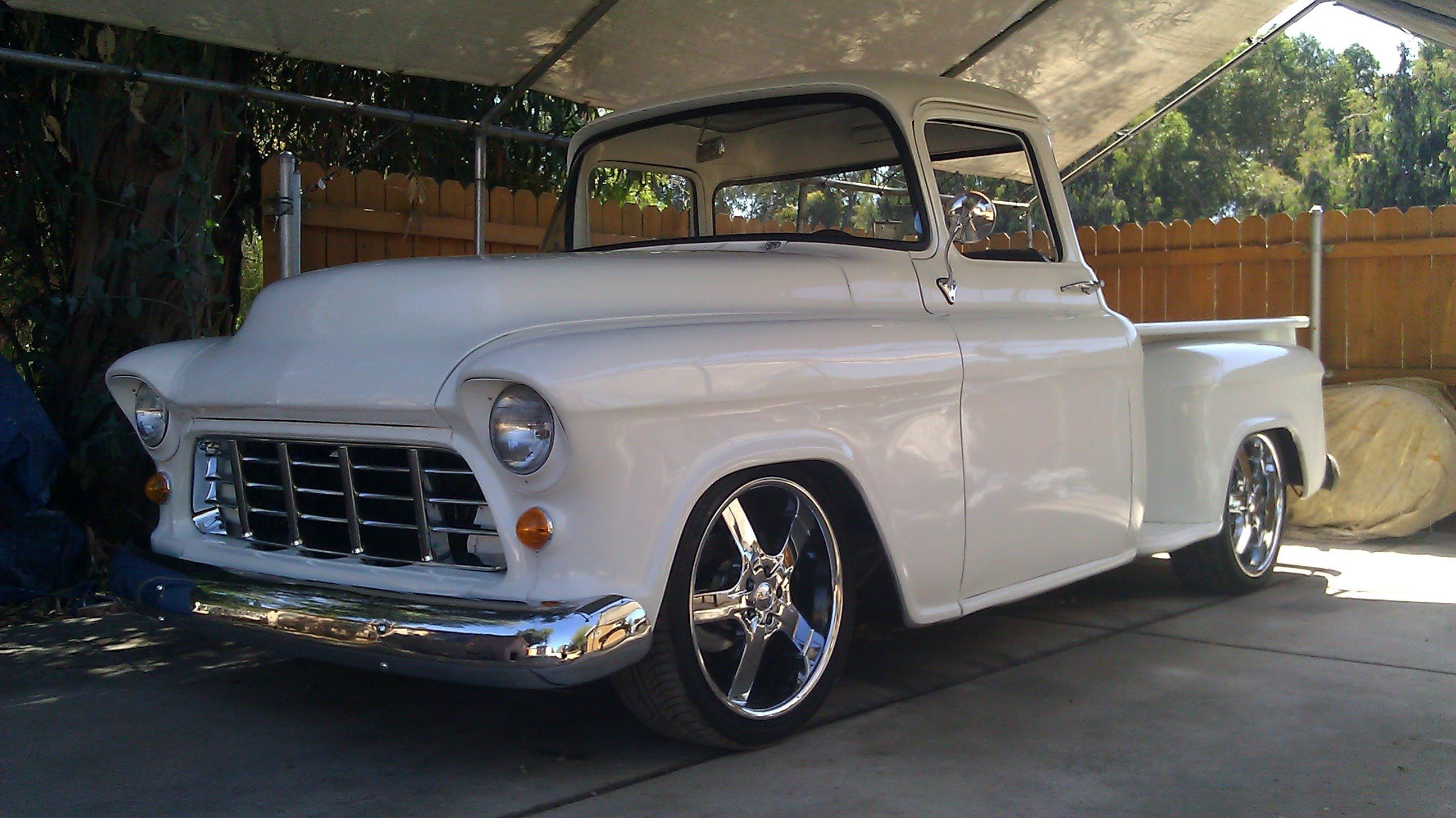 55 chevy pickup build 1955 chevy truck 2 year backyard rebuild step by step youtube. Black Bedroom Furniture Sets. Home Design Ideas