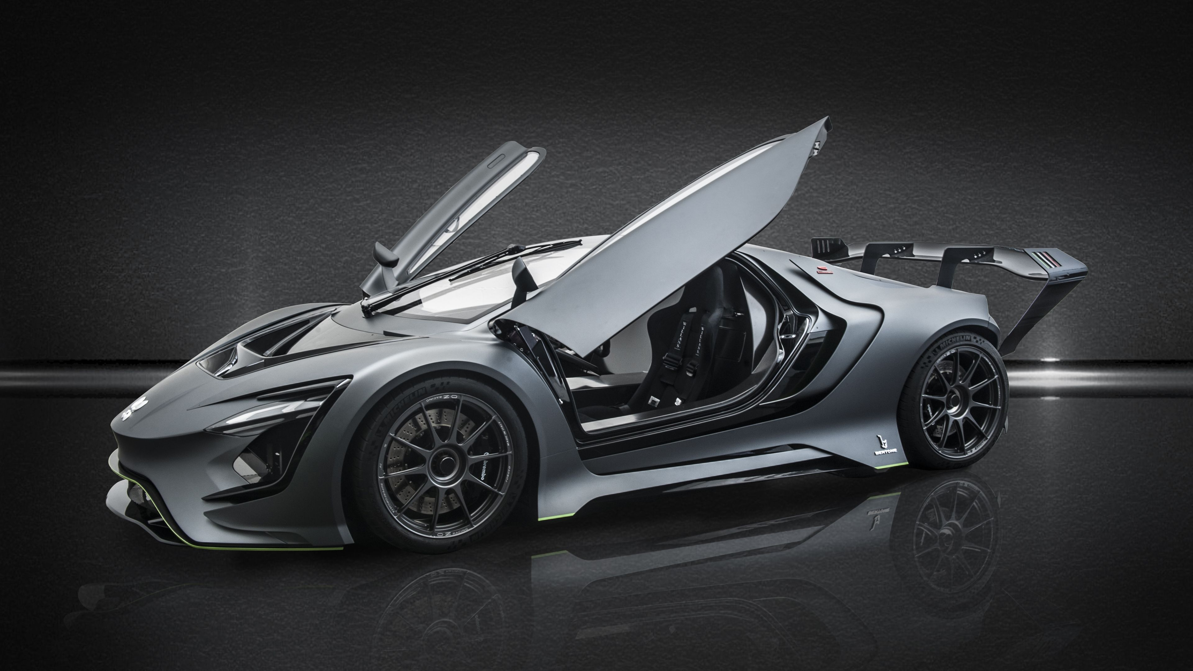 Dianche Bertone Bss Gt One 2018 Side View 4k Hd Wallpapers Cars