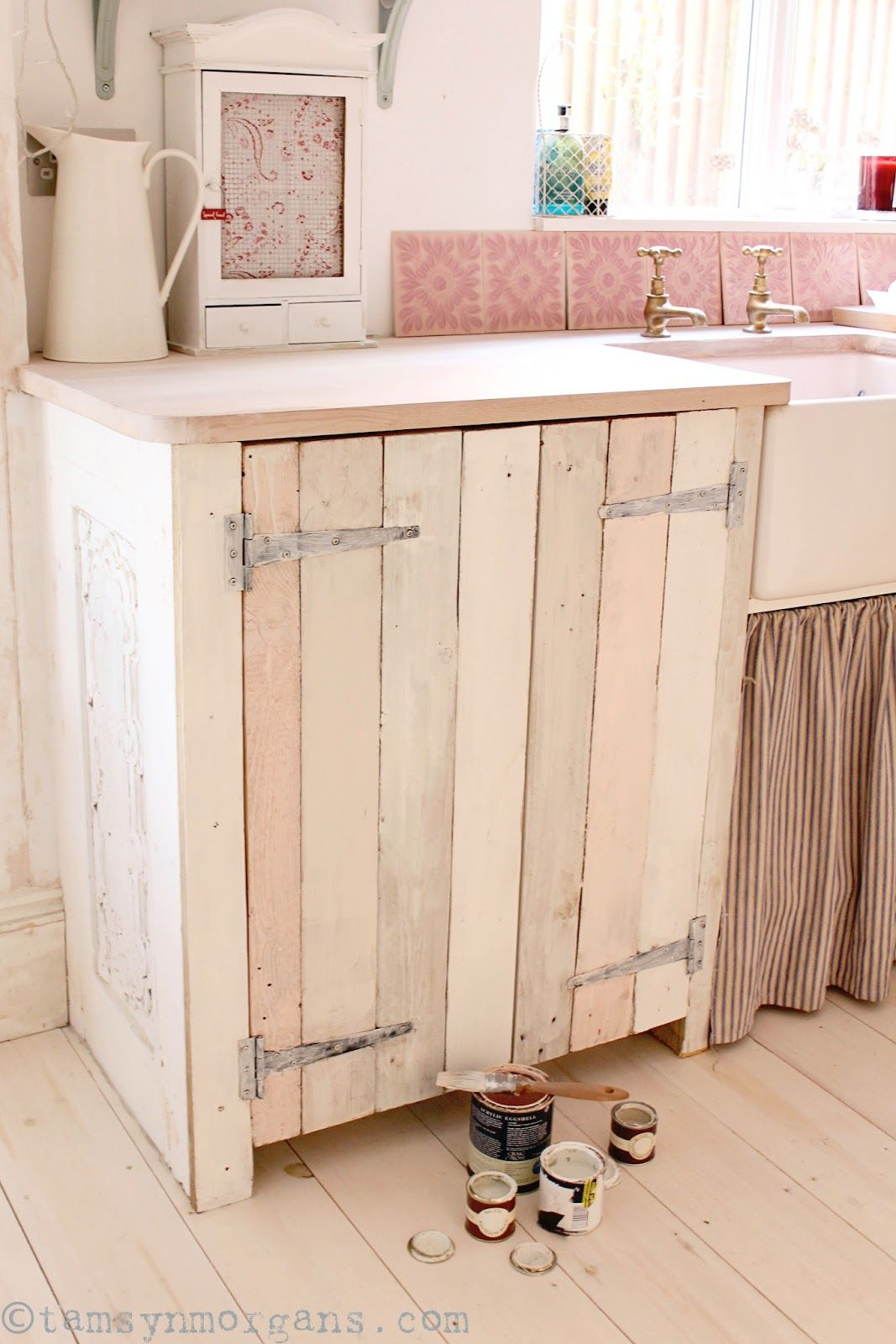 Outstanding Upcycled Pallet Kitchen Cupboard A Work In Progress Jua Home Interior And Landscaping Ologienasavecom