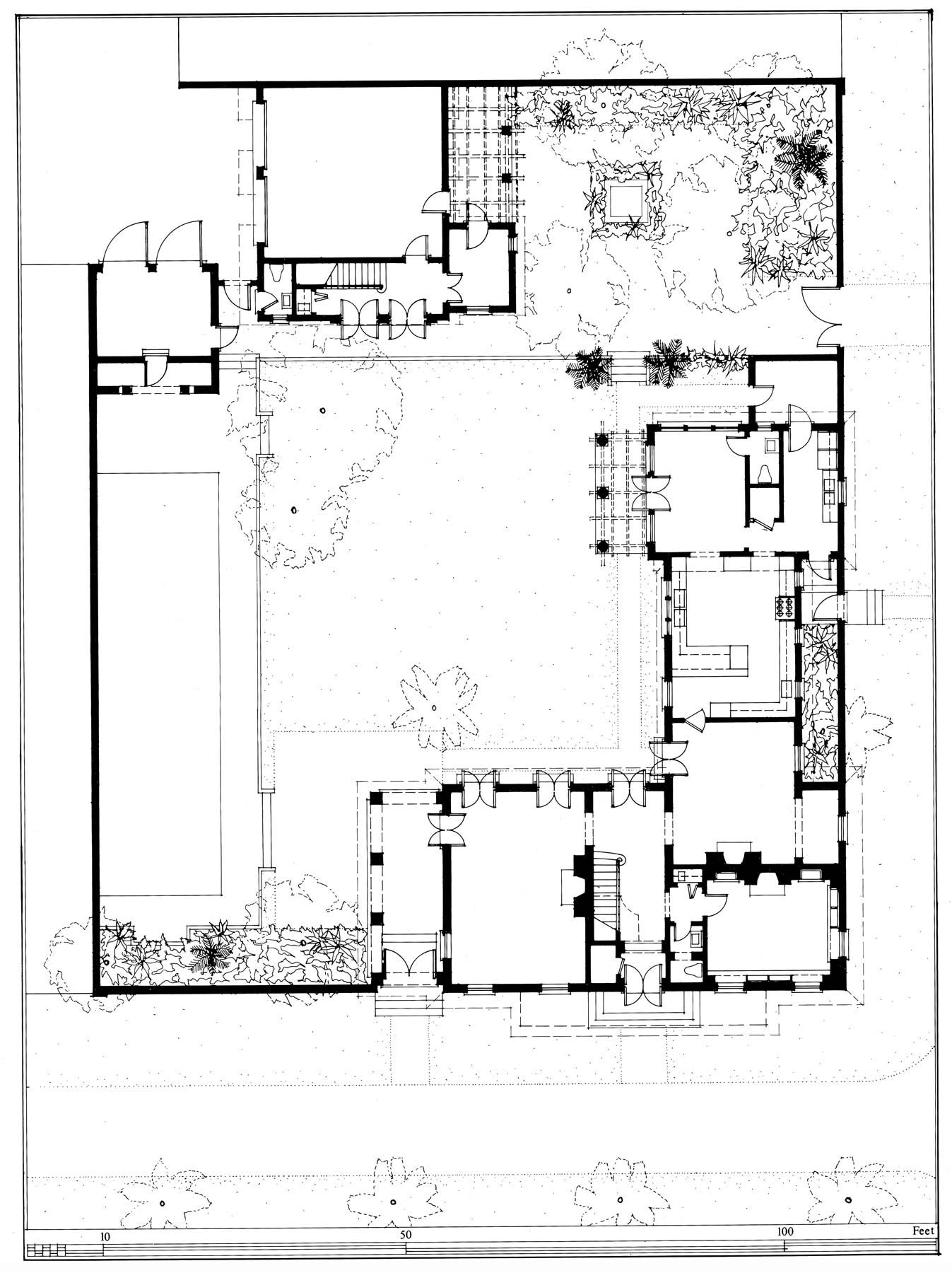 New House At Windsor G P Schafer Architects Architectural Floor Plans Vintage House Plans House Floor Plans