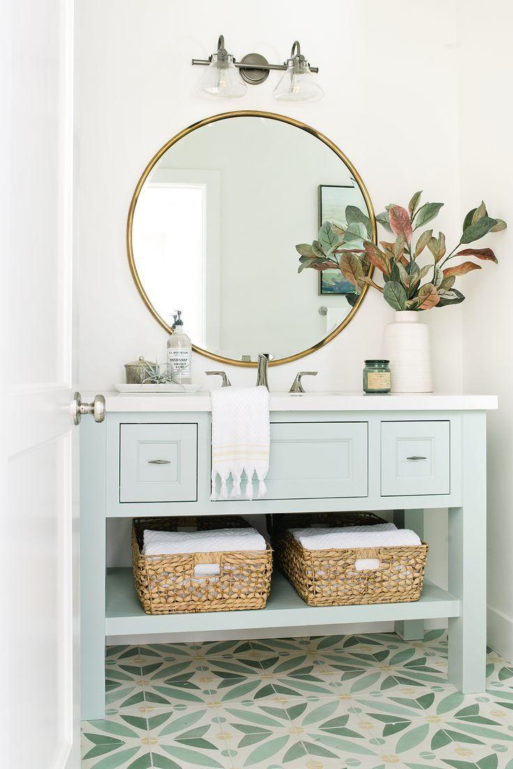 Powder Room Bathroom Design #bathroom #powderroom | Designer ...