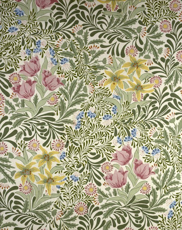 Bower by William Morris Brooklyn Museum Decorative Arts