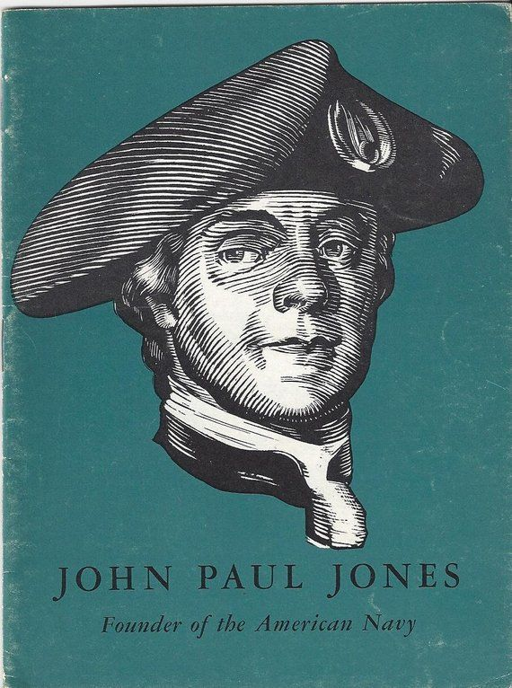 Vintage John Paul Jones Founder Of The American Navy John Hancock
