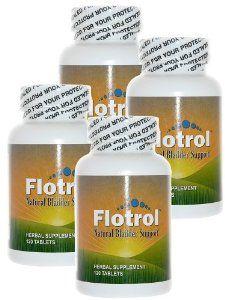Flotrol Natural Bladder Support 3 120 Tablet Bottles By Flotrol