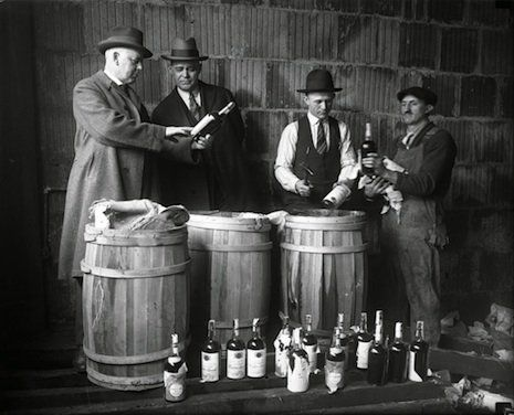 prohibition led to a rise in