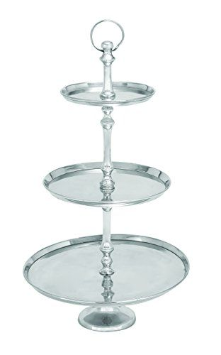 Aluminum Decorative Tray Deco 79 Aluminum 3 Tier Tray 2515Inch  To View Further For