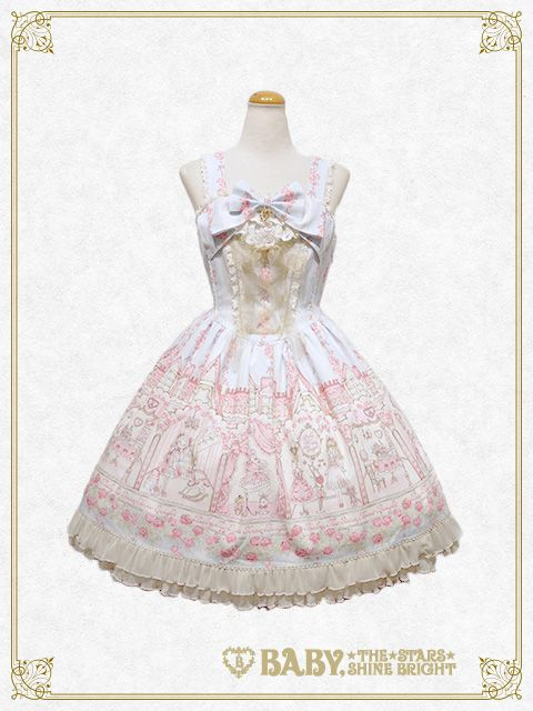 Baby, the stars shine bright Dreaming Of Little Lover jumper skirt Ⅰ