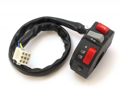 K/&S Technologies Universal Turn Signal Switch With LED