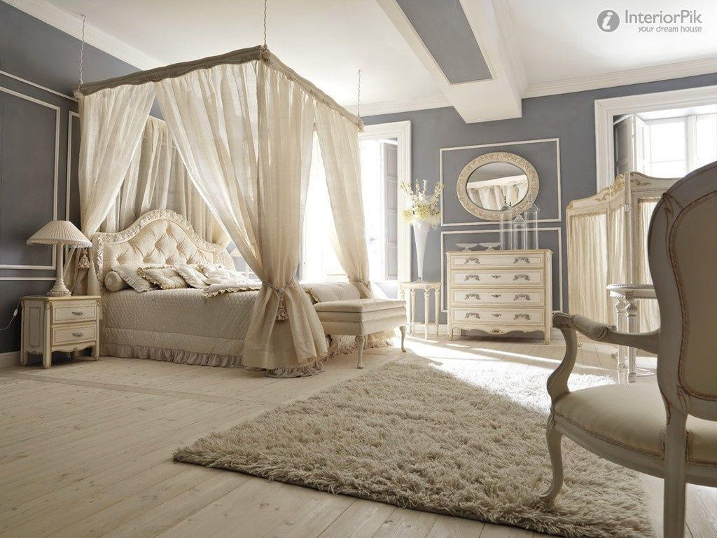 Romantic Luxury Master Bedroom European Style Luxury Villa Romantic Bedroom Decoration Effect Chart