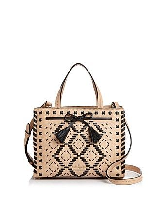 b53ff4501a3a New Designer Handbags at Neiman Marcus. kate spade new york Hayes Street  Isobel Woven Small Leather Satchel