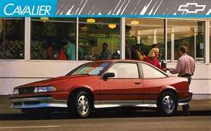 My Fifth Car 1989 Chevy Cavalier Z24 First Car Dennis And I