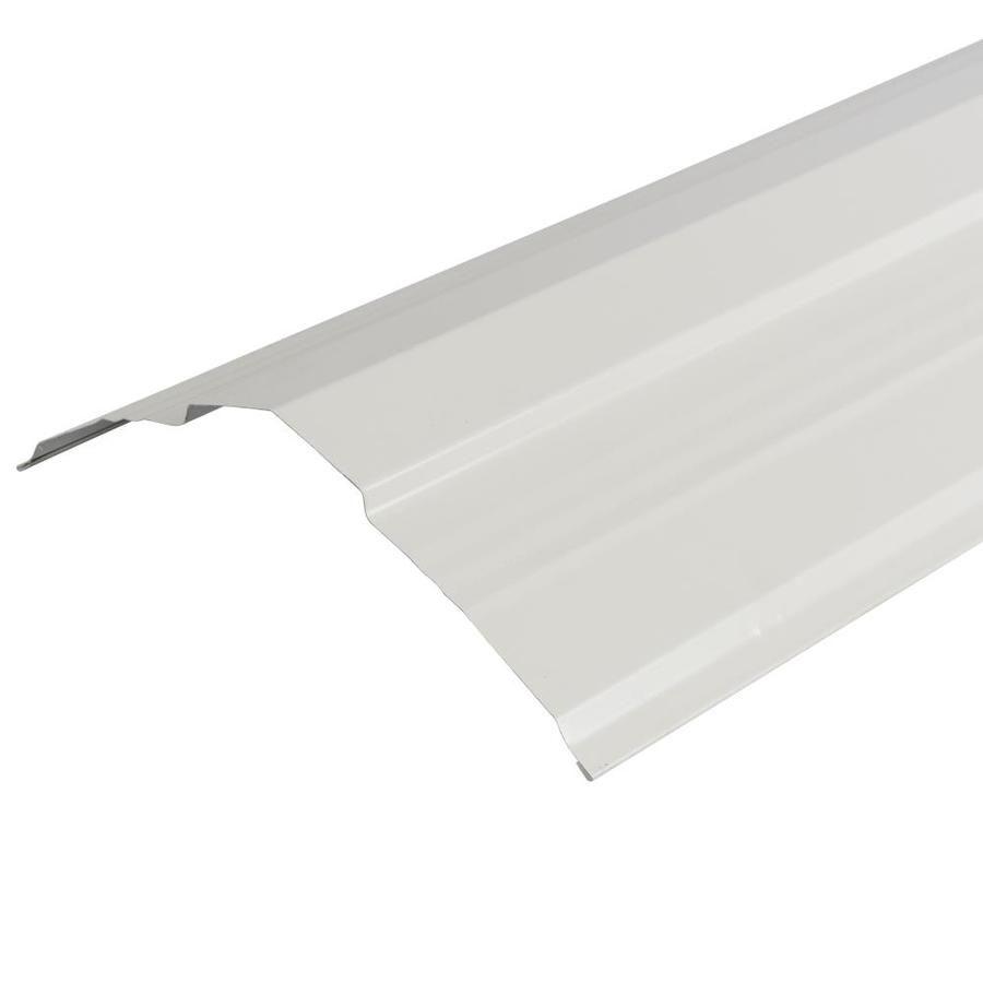 Metal Sales Universal Ridge 14 In X 126 In Steel Roof Panel Ridge Caps 4202330lw In 2020 Steel Roof Panels Ridge Cap Metal