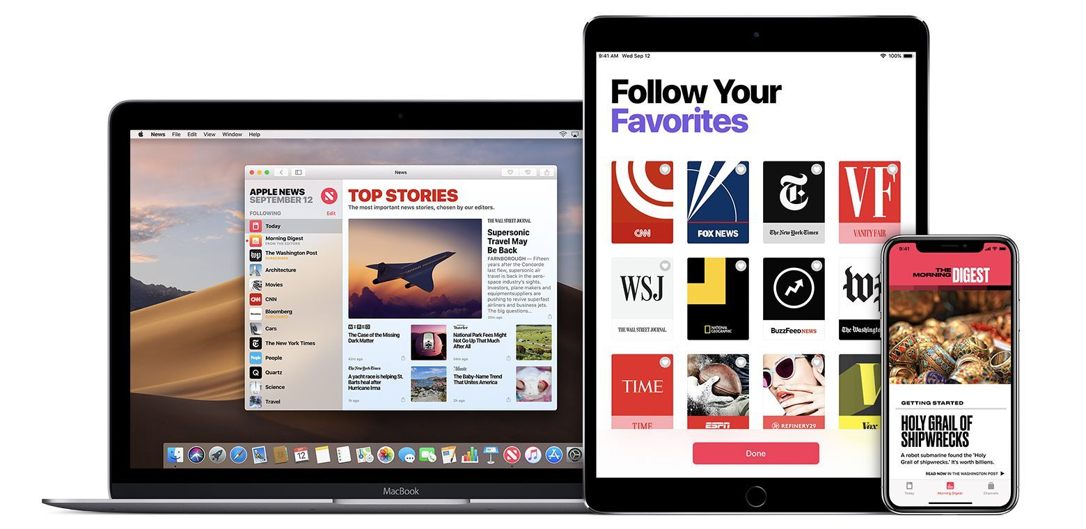 most used news app
