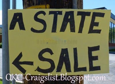 Garage Sale Sign Of The Week Which State Funny Sign Fails Funny Signs Garage Sale Signs