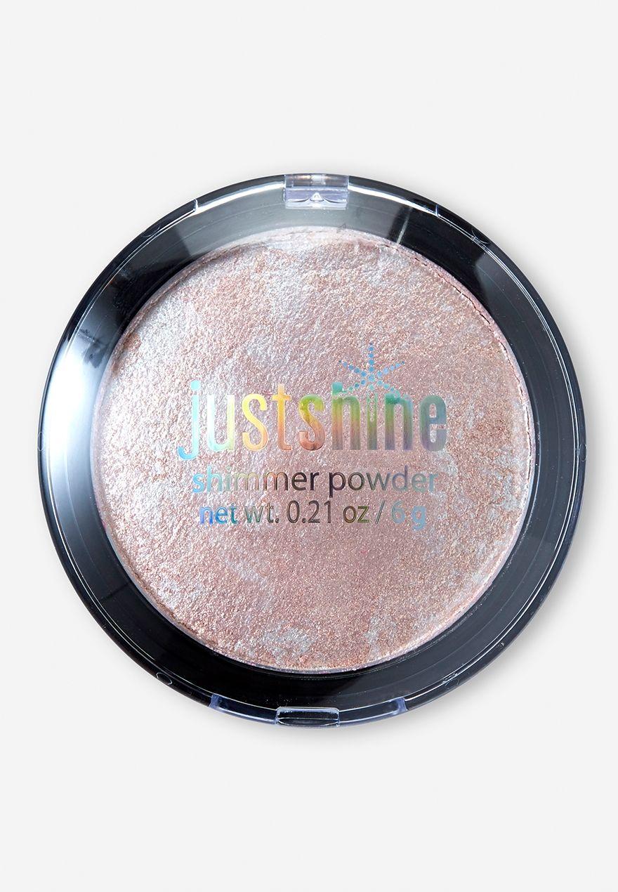 justice makeup blush. just shine bronze shimmer powder justice makeup blush s