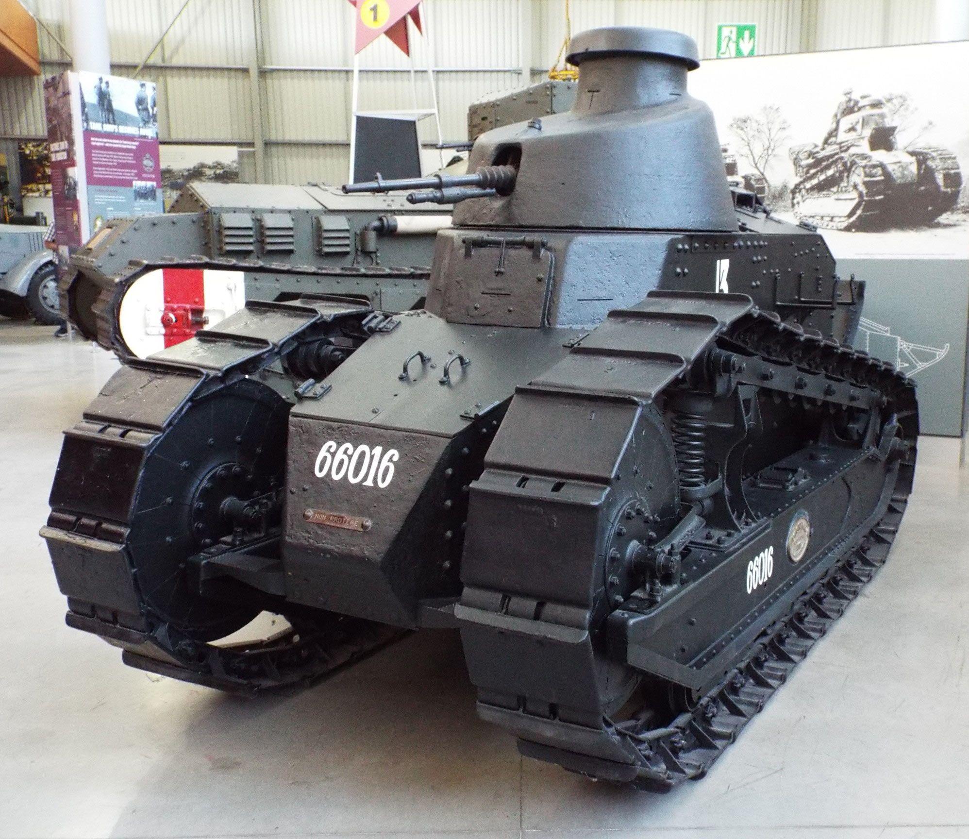 French Renault FT-17 1917-49 Tank Museum Bovington