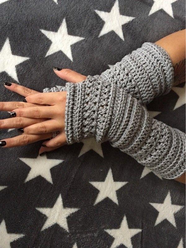 Photo of Häkelmuster Armstulpen / Handgelenkwärmer Bella #gloves Häkelmuster Armstulpen / …