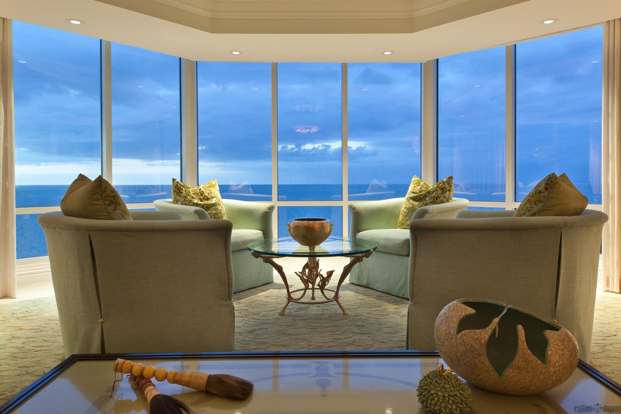 Collins & Dupont Design Group contemporary luxury penthouse collins & dupont design group