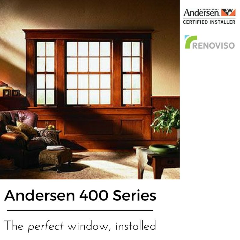 The Clic Look Of Andersen 400 Series Tilt Wash Double Hung Window Doesn T