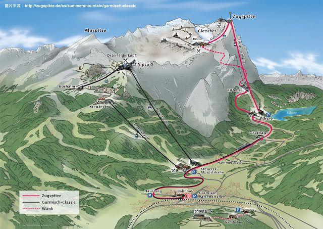 歐洲自助40天 楚格峰 Zugspitze 旅遊介紹 Eibsee 踩船遊湖體驗 Zugspitze Trip Day Trip