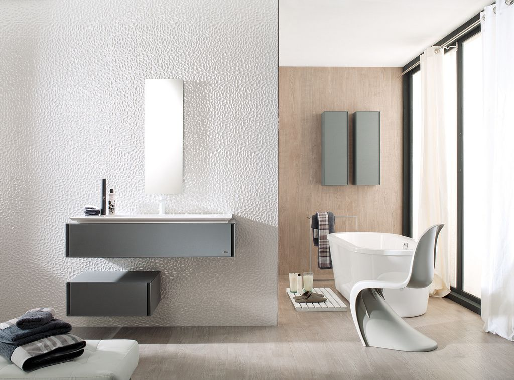 Porcelanosa Helsinki White With Images Contemporary Bathroom Designs