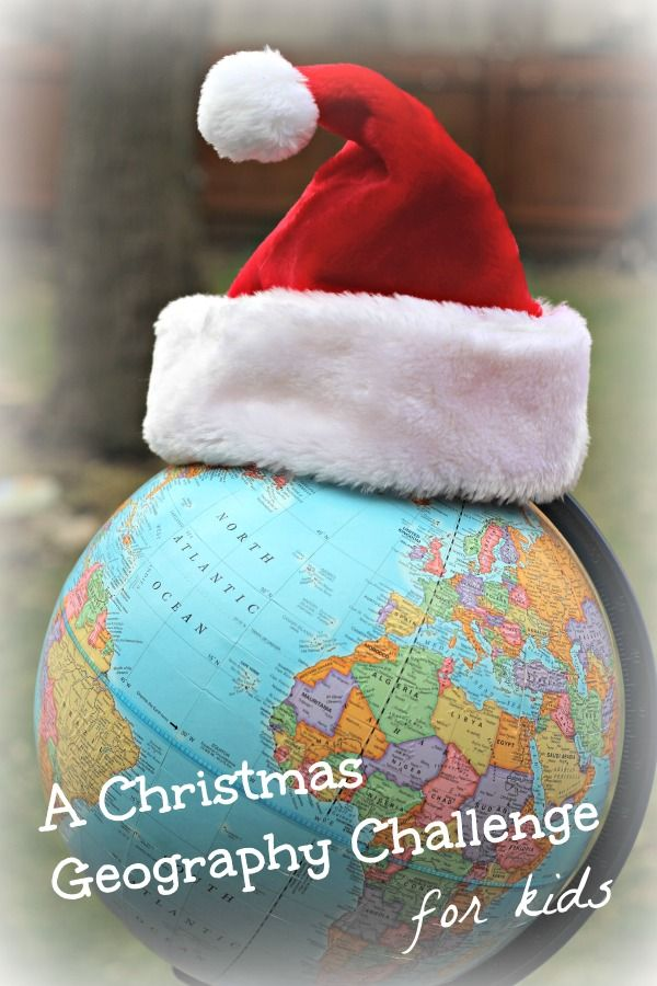 Christmas Around the World  Map Activity  w free printable     Kid     Have fun with this Christmas Geography activity for kids    practice map  skills by finding all the holiday locations in this challenge